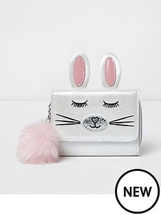 river-island-river-island-girls-trifold-novelty-bunny-purse-with-pom-pom