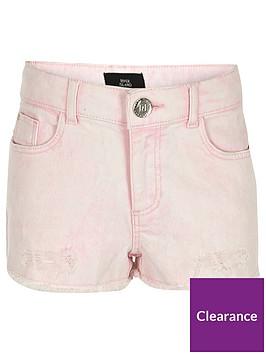 river-island-girls-pink-denim-boyfriend-shorts
