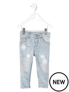 river-island-mini-girls-acid-wash-crochet-amelie-jeans