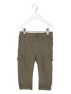river-island-mini-boys-khaki-green-cargo-trousers