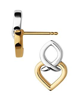 links-of-london-infinite-love-sterling-silver-and-18kt-gold-vermeil-earringsnbsp