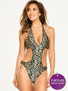 myleene-klass-premium-lace-swimsuit-blacknude