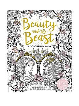 Very Beauty And The Beast Colouring Book Picture