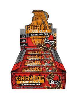 GRENADE Grenade Carb Killa 12 X 60G Bars Peanut Nutter Picture