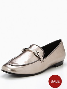 v-by-very-patsy-silver-trim-loafer-pewter