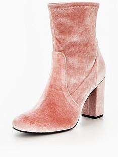 v-by-very-rebel-velvet-block-heel-ankle-boot-pink