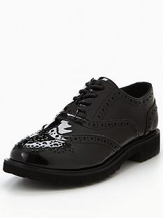 v-by-very-snap-chunky-sole-patent-brogue-black