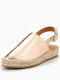v-by-very-trick-slingback-espadrille-rose-gold