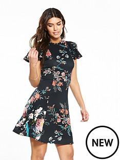 v-by-very-printed-swing-hem-dress
