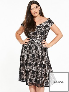 v-by-very-curve-curve-lace-bardot-dress