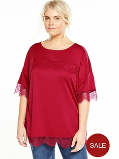v-by-very-curve-lace-sleeve-t-shirt-raspberry