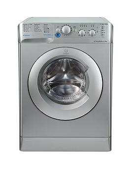 Indesit Innex Bwc61452Suk 6Kg Load 1400 Spin Washing Machine  Silver