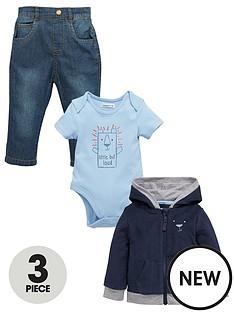 ladybird-baby-boys-3pc-hooded-top-bodysuit-amp-jeans-set