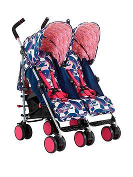 Cosatto Supa Dupa Go Twin Stroller  Magic Unicorns