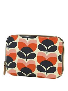 orla-kiely-flower-stripe-makeup-brush-case