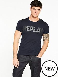 replay-large-logo-tshirt
