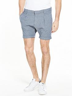 selected-homme-turn-up-hem-shorts