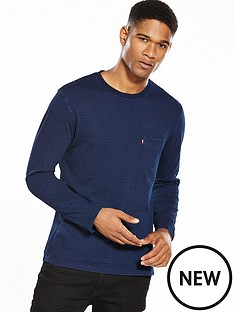 levis-sunset-one-pocket-striped-long-sleeve-ts
