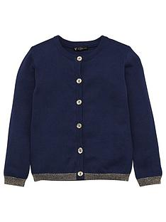 mini-v-by-very-mini-v-by-very-girls-lurex-trim-cardigan-navy