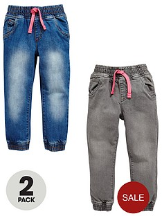 mini-v-by-very-girls-2-pack-grey-amp-denim-wash-jeans