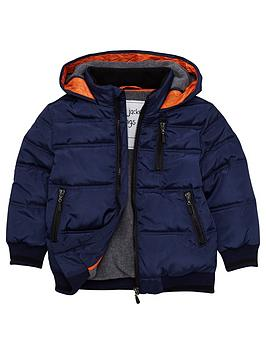 mini-v-by-very-boys-navy-quilted-jacket-with-orange-trim