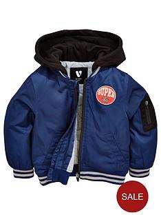mini-v-by-very-boys-hooded-navy-bomber-jacket