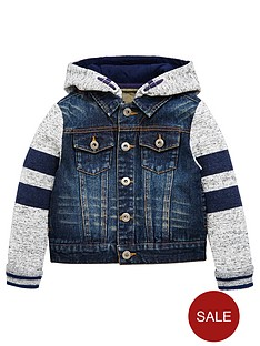 mini-v-by-very-boys-jersey-sleeve-denim-hooded-jacket
