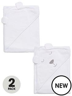 ladybird-baby-unisex-2pk-bear-towels