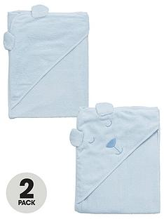 ladybird-baby-boys-hooded-2pack-bear-towels