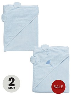 mini-v-by-very-baby-boys-hooded-2pack-bear-towels