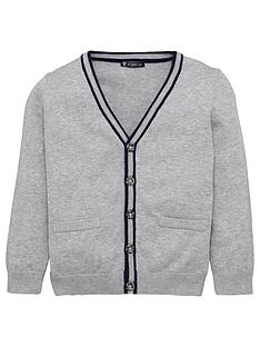mini-v-by-very-boys-soft-knit-grey-marl-cardigan