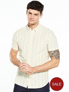 selected-homme-short-sleeve-stripe-shirt