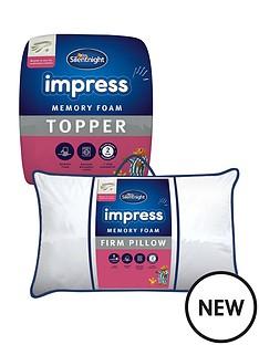 silentnight-impress-memory-foam-mattress-topper-and-pair-of-pillows