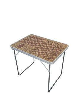 Regatta Camping Games Table