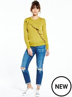 river-island-mustard-jumper
