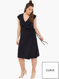 girls-on-film-curve-curve-wrap-front-dress-black