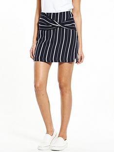 river-island-pinstripe-wrap-skirt