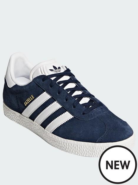 adidas-originals-gazelle-junior-trainer-bluewhitenbsp