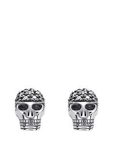 thomas-sabo-thomas-sabo-sterling-silver-rebel-at-heart-diamond-skull-earrings