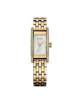 Hugo Boss Black Hugo Boss Black Cocktail Gold Tone Stainless Steel Bracelet Ladies Watch