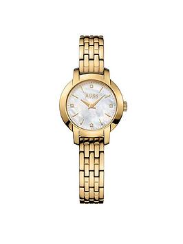 Hugo Boss Black Hugo Boss Black Success Gold Tone Bracelet Ladies Watch