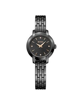 Hugo Boss Black Hugo Boss Black Success Black Dial Bracelet Ladies Watch