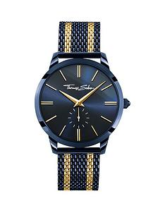 thomas-sabo-rebel-spirit-mens-watch-blue-dial-42mm-2-tone-mesh-braceletnbspadd-item-ktjq4-to-basket-to-receive-free-bracelet-with-purchase-for-limited-time-only
