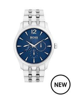 hugo-boss-black-hugo-boss-black-commander-blue-chronograph-dial-stainless-steel-bracelet-mens-watch