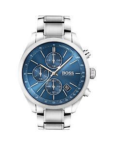 hugo-boss-black-hugo-boss-black-grand-prix-blue-chronograph-dial-stainless-steel-bracelet-mens-watch