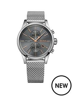 hugo-boss-black-hugo-boss-black-jet-grey-multi-dial-stainless-steel-mesh-bracelet-mens-watch