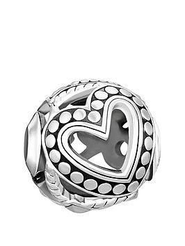 Thomas Sabo Thomas Sabo Sterling Silver CutOut Faith Love Hope Karma Bead