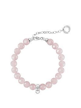 thomas-sabo-sterling-silver-charm-club-rose-quartz-adjustable-charm-bracelet-19cm