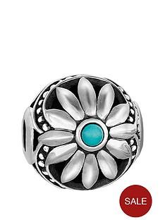 thomas-sabo-thomas-sabo-sterling-silver-enamel-daisy-karma-bead