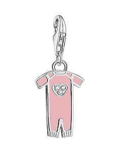 thomas-sabo-thomas-sabo-sterling-silver-charm-club-pink-enamel-baby-girl-suit-charm